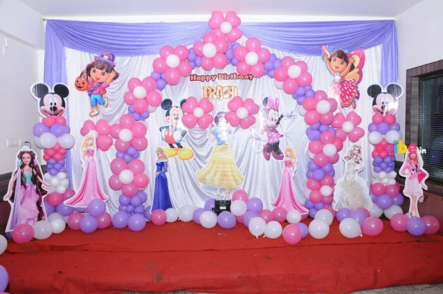 Birthday party planner in indirapuram birthday party for Balloon decoration in noida